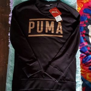 Puma💜NWT💜long sleeve top